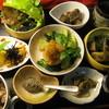 ヘルシーセット デザート付(set menu, smaller portion+Dessert)
