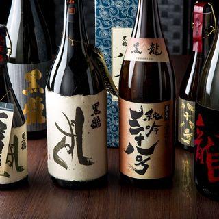 【福井の銘酒が勢揃い】黒龍&梵をご用意しております♪