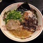 28144426 - 福岡長浜屋台風ラーメン(細麺)