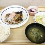 東京大学消費生活協同組合 医科研店 - 白金定食(S) 530円