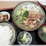 喜楽食堂 - 焼肉定食 820円