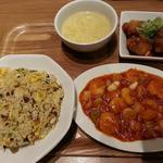 青菜 - 海老チリセット 1566円