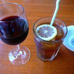 カプリチョーザ - 【グラスワイン赤とアイスティ】2014/5
