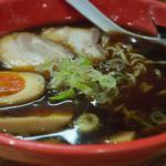 麺家 いろは - 富山ブラック味玉ラーメン(870円)