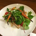 28154156 - SPF豚ロース肉と野菜のソテー トリュフ風味のバルサミコソース 1860円