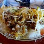 ミール珈屋凪 - 焼肉とサラダと温泉玉子のコラボが楽しいです
