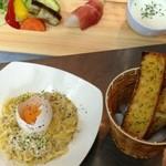 キッチン いのうえ - 料理写真:パスタランチ☆カルボナーラ