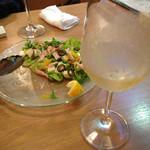 motenasi - ツナと長芋のサラダ