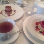 ミキモトラウンジ - 紅茶で美味しくいただきました。
