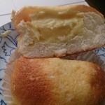タローパン - ☆美味しいクリームパン断面☆