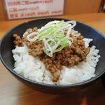 28164414 - 肉味噌ご飯