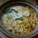 居酒屋ばさら - 料理写真:鍋焼きらーめん(並)