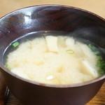 Mist - 絹ごしと揚げの味噌汁