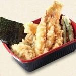 天丼 あきば - 海鮮天丼弁当690円