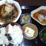 本濱 - ランチ、鯛めし1200円