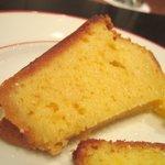 ラトリエ・ドゥ・ニシタニ - オレンジのバターケーキ