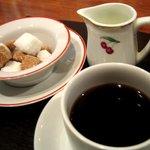ラトリエ・ドゥ・ニシタニ - コーヒー美味しくておかわりしちゃいました。