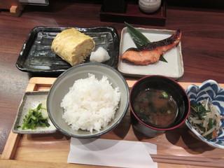 人形町 田酔 - 時鮭西京焼きセット¥1,200