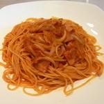 カフェ・ポレポレ - スパゲティー トマトソース(500円)