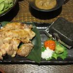 九州 熱中屋 - 霧島黒豚ばら肉の海塩溶岩焼