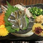 九州 熱中屋 - きびなご刺身