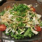 九州 熱中屋 - 豚バラ肉の冷しゃぶサラダ
