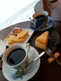 はぜや珈琲 - チーズケーキ
