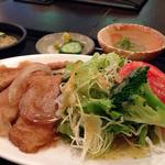 自然菜食 りんどう - グルテンの生姜焼き