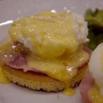 サロン卵と私 - エッグベネディクト