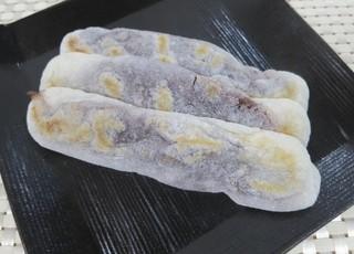 安永餅本舗 柏屋  - 安永餅を並べてみました。