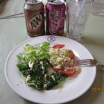 ポレポレジャンボリー  - 料理写真:ランチのオードブル風サラダ