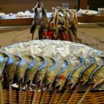 柳家 - 付知川の天然鮎