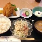 河広 - アジフライ定食
