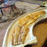柳家 - 矢作川 天然鰻白焼き