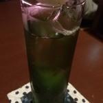 Bar 一葉 - 抹茶のカクテル