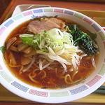 中野坂上 ハーモニータワー けやきガーデン - 醤油ラーメン(葱増し)(2014.Feb)