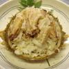 鯛八鮨 - 料理写真:トゲクリカニは食べやすく捌いて甲羅に詰めてお出しします