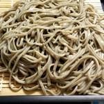 麺道楽のばら - 二八蕎麦
