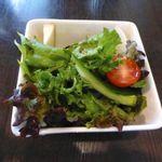 竃 円山 - 夫のサラダ