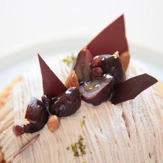 むすびcafé - 料理写真:ご自宅用に・記念日のケーキ・モンブラン・予約制