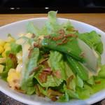 カフェ カーサ - 料理写真:サラダはドレッシング手作りぞん