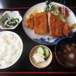 和食富味 - 三元豚のとんかつ定食 食歴・2セット