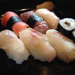 いわな - イワナのお寿司は激ウマヽ(*´∀`)ノ