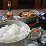 食い家 - 料理写真:おこのみチーズ定食 食い家