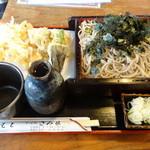 28196768 - 天ざる蕎麦(1,200円)