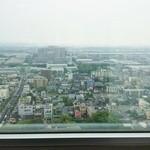 あおぞら - 久留米市庁舎の20階にある、文字通り・天空のカフェ。この眺めもまたすてきなごちそうといえるかもしれません。