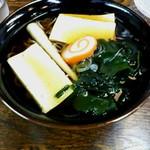 古太神 - 石割豆腐そば