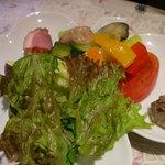 林 - ランチの前菜