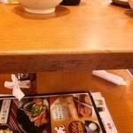 28200553 - テーブルの下に置き場が有ります 忘れ物注意★