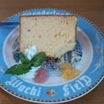 ダヤンカフェ - 日替わりシフォンケーキ